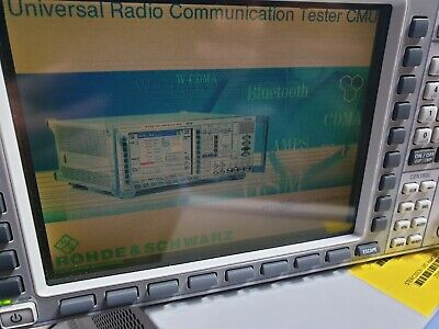 Rhode & Schwarz Cmu200 1100.0008.02 Universal Radio Communication Tester W/ Opt