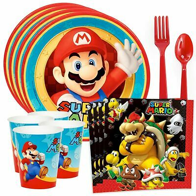 Super Mario Party Standard Tableware Kit (Serves 8)