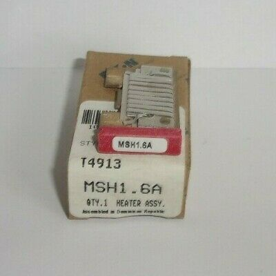 Eaton Cutler Hammer Msh1.6A Thermal Heater Overload  For Ms Starter Msh16A Nib
