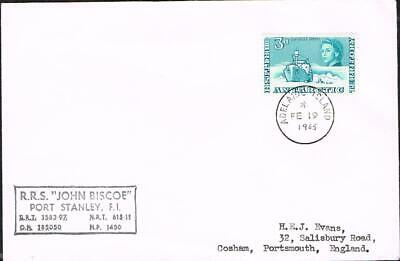 B.A.T. 3d on adelaide island 1965 [year added in manuscript] cover heijtz cat£25