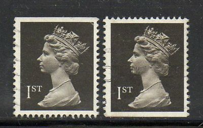 SG 1447 1st Class Booklet Machins 1989 - Imperfs Top/Bottom - Fine Used