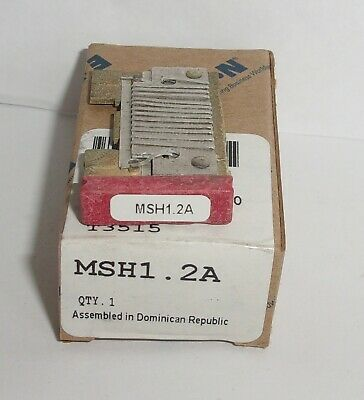 Eaton Cutler Hammer Msh1.2A Thermal Heater Overload  For Ms Starter Msh12A Nib