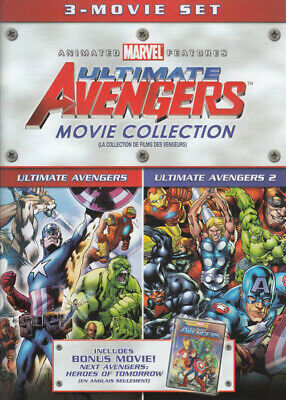 Ultimate Avengers Collection (Ultimate Avenger Nuovo DVD