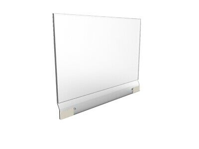 "13x8"" Clear Graphics Holder Sign Holder Display Detachable Header Picture Frame"