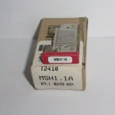 Eaton Cutler Hammer Msh1.1A Thermal Heater Overload  For Ms Starter Msh11A Nib