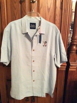 c412fc1f Tommy Bahama Disney Parks Mickey Mouse & Friends Men's Shirt M- New With  Tags!