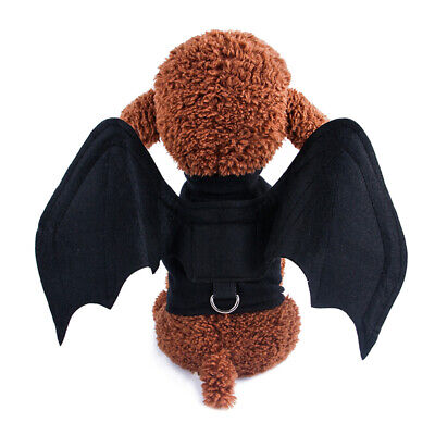 Cat Costume Halloween Bat Wings Pet Costumes Pet Apparel for Small Dogs Cat LJ