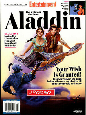Entertainment Weekly Collector's 2019, The Ultimate Guide To Aladdin, New/Sealed
