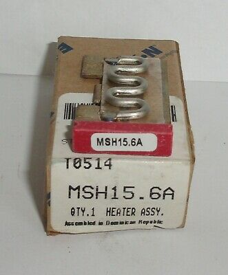 Eaton Cutler Hammer Msh15.6A Thermal Heater Overload  For Ms Starter Msh156A