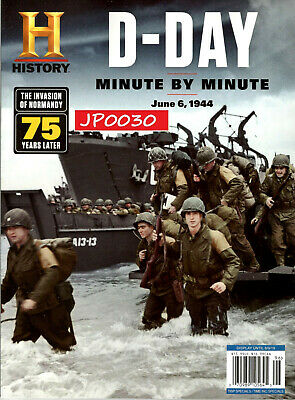 History Magazine 2019, D-Day, Minute By Minute, New/Sealed