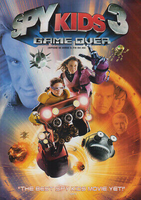 Spy Kids 3 - Game Over (Bilingual) (Canadian R New DVD