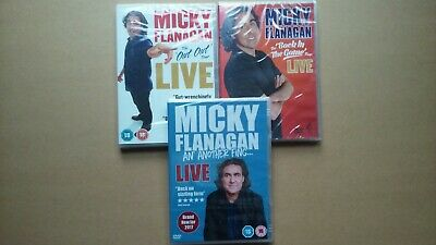 Micky Flanagan - The Complete Collection - Stand-Up Comedy (3 Disc DVD Set) NEW