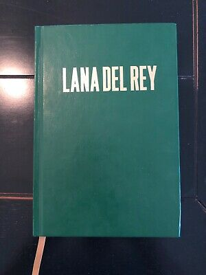 Lana Del Rey Green Endless Summer Tour Lyric Book Signed (Limited Edition)