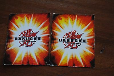 2 Bakugan Trading Cards G-Power Increase BA279-AB-SM-GBL Marionette BA226-AB-SM