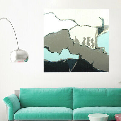Hand-Painted Art Canvas Oil Painting - Sea | Abstract Home Wall Decor Framed