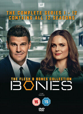 Bones: The Flesh & Bones Collection - The Complete Series 1-12 DVD (2017) David