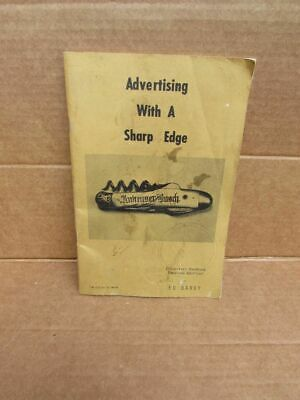 Vintage Advertising Knife Collector Price Guide Handbook Ed Bardy