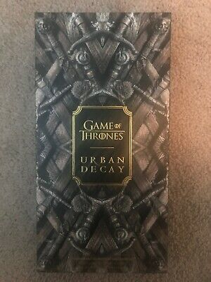 IN HAND NEW IN BOX SOLD OUT Urban Decay Game of Thrones Eye Shadow Palette