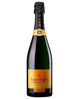 Veuve Clicquot Vintage Champagne Sparkling 750mL case of 6