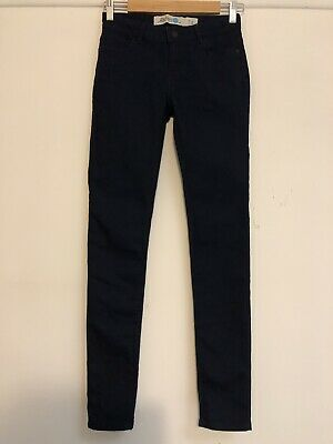 RIDERS jnr BY LEE DARK NAVY STRETCH MID RISE SKINNY JEANS Size GIRLS 14 NEW!