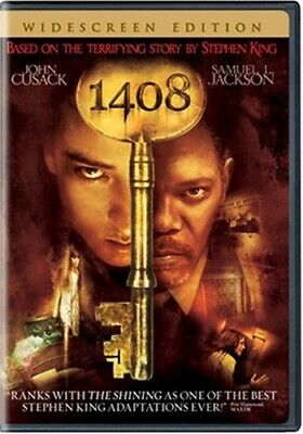 1408 New Sealed DVD Stephen King John Cusack Samuel L Jackson