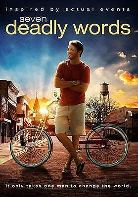 NEW Sealed Christian Drama Widescreen DVD! Seven Deadly Words (Roy Lynam)