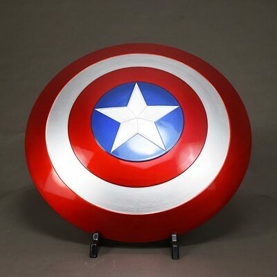 Strong ABS 1:1 The Avengers Captain America Shield Replica Toy Prop Cosplay