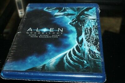 Alien Quadrilogy Blu-ray Tom Skerritt, Sigourney Weaver, Veronica Cartwright, H