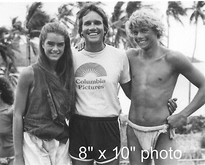RANDAL KLEISER director w BROOKE SHIELDS & CHRIS ATKINS (70)