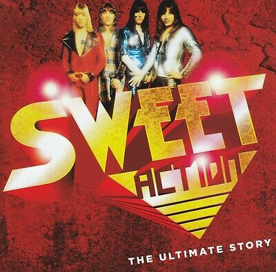 SWEET (2 CD) ACTION : THE ULTIMATE STORY ~ GREATEST HITS / BEST OF 70's *NEW*