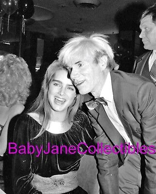 ANDY WARHOL BROOKE SHIELDS CANDID party photo #2 (L102)