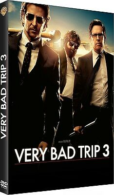 DVD  //  VERY BAD TRIP 3  //  Cooper - Galifianakis- Helms / NEUF cellophané