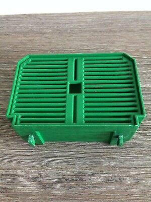 Slush Machine Spare Part Cab Faby Spa Drip Tray Old Style Flat Green