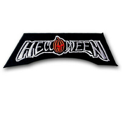 Helloween Patch Embroidered Power Metal Band Applique Emblem Rock Biker Rider #2