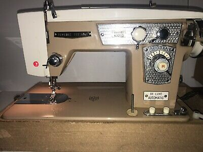 BROTHER PRESTIGE VINTAGE De Luxe Automatic Heavy-Duty Sewing Machine Model 400