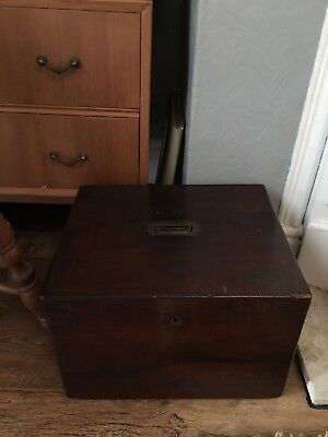 Victorian Deeds Chest Storage. Beautiful Chest