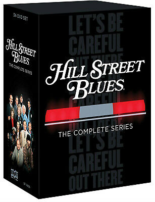 Hill Street Blues: The Complete Series season 1 -7 (DVD, 2014, 34-Disc Set)