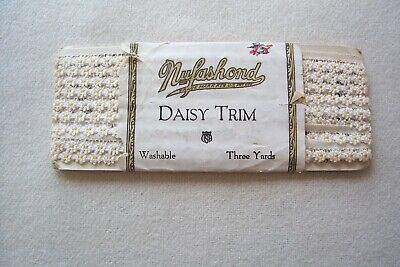 Vtg early 1900 shoe Middy lacer lace Braid Millinery Hat Trim  One Package