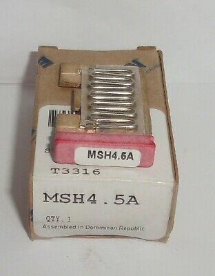 Eaton Cutler Hammer Msh4.5A Thermal Heater Overload  For Ms Starter Msh45A Nib
