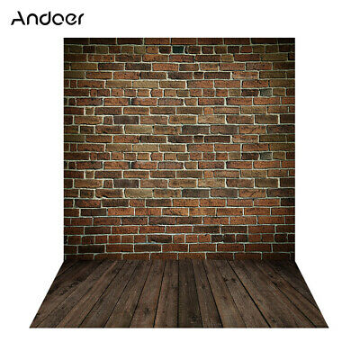 Andoer 1.5*2m Big Photography Background Backdrop Classic Fashion Wood L3W7