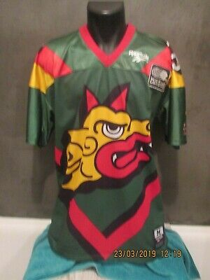 maillot BARCELONA DRAGONS NFL EUROPE 1995 shirt jersey camiseta vintage