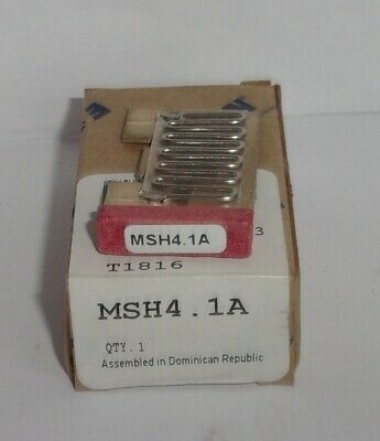Eaton Cutler Hammer Msh4.1A Thermal Heater Overload  For Ms Starter Msh41A Nib