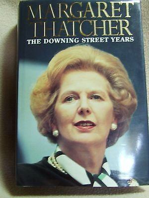 The Downing Street Years by Margaret Thatcher (Hardback, 1993)