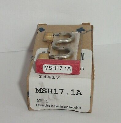 Eaton Cutler Hammer Msh17.1A Thermal Heater Overload For Ms Starter Msh171A