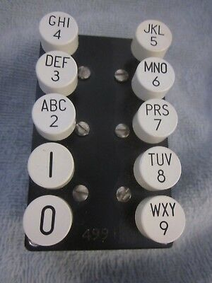 """Western Electric """"499H"""" Operator's Push-Button Dial"""