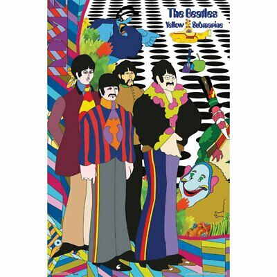 BEATLES - YELLOW SUBMARINE POSTER 22x34 - MUSIC BAND 51146