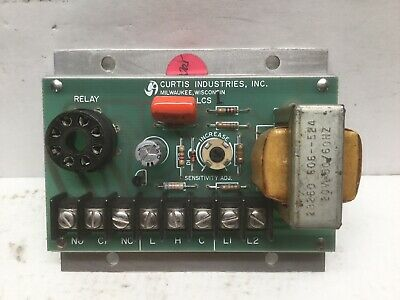 Curtis Industries LCS-1 Liquid Level Controller Relay Circuit Board