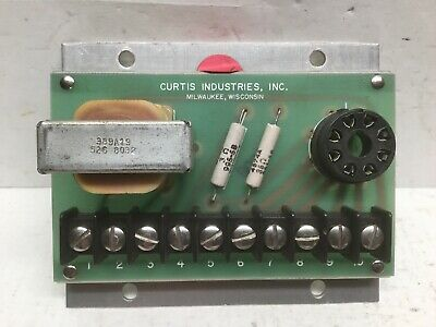 Curtis Industries 389A19 526 8032 Relay Circuit Board