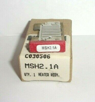 Eaton Cutler Hammer Msh2.1A Thermal Heater Overload  For Ms Starter Msh21A Nib