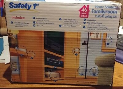 Safety 1st Family Room Child Proofing Kit Home Solutions - 46 Piece